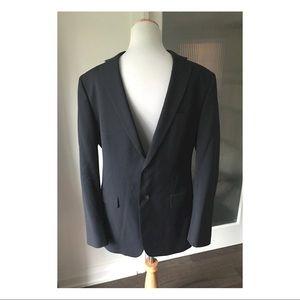 Men's Banana Republic black tailored fit blazer